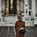 Wat Bencha Monk by David Longstreath