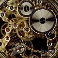 Watch Mechanism. Close-up by Bernard Jaubert