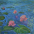 Water Lilies Lounge 2 by Felicia Tica