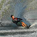 Water Skiing Magic Of Water 13 by Bob Christopher