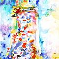 Watercolor Woman.18 by Fabrizio Cassetta