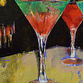 Watermelon Martini Print by Michael Creese