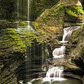Watkins Glen Falls by Anthony Sacco