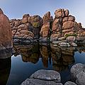 Watson Lake Arizona Reflections by Dave Dilli
