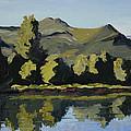 Watson Lake by Mary Giacomini