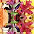 Waves of Color Print by Judy Palkimas