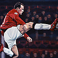Wayne Rooney by Paul Meijering