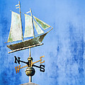 Weathervane Clipper Ship by Carol Leigh