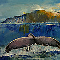 Whale Song Print by Michael Creese