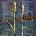 Wheat Couple by Carolyn Doe