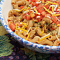 Wheat Pasta Goulash by Andee Design