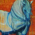 White Stallion by Jani Freimann