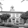 Whittier College Hoover Hall Print by University Icons
