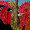 Who You Calling Chicken by Karen Ilari