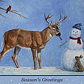 Whose Carrot Seasons Greeting by Crista Forest