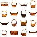 Wicker Basket Collection by Olivier Le Queinec