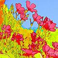 Wild Flowers In Bloom by Julie Lueders
