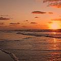 Wildwood Beach Sunrise II Print by David Dehner