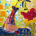 Wilting Rose by Diane Fine