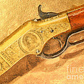 Winchester 1866 Yellow Boy Rifle by Odon Czintos