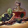 Wine And Berries by Natasha Denger
