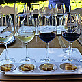 Wine And Cheese Tasting by Kurt Van Wagner