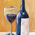 Wine Bottle Still Life by Todd Bandy