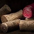 Wine Corks Still Life Iv by Tom Mc Nemar