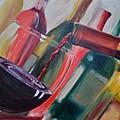 Wine Pour IIi by Donna Tuten