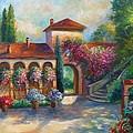 Winery In Tuscany by Regina Femrite