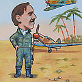 Wing Cdr.clive Caldwell by Murray McLeod