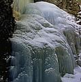 Winter At Zapata Falls by Ellen Heaverlo