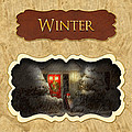 Winter Button by Mike Savad