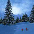 Winter Christmas Card 2012 by Cecilia Brendel