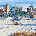 Winter In Lourmarin by Jean-Marc Janiaczyk