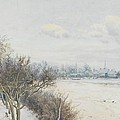 Winter In The Ouse Valley by William Fraser Garden