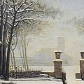 Winter Landscape by Alessandro Guardassoni