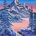 Winter Moon by David Lloyd Glover