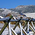 Winter On Horsetooth Mountain by Emily Clingman