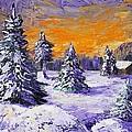 Winter Outlook by Anastasiya Malakhova