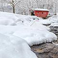 Winter Stream by Bill Wakeley