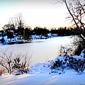 Winter Wonderland  In Maryland Usa by Danielle  Parent