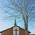 Winter Worship by Bill Tiepelman