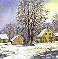 Wintertime In The Country by Carol Wisniewski