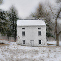 Wintertime in Valley Forge Print by Bill Cannon