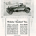 Wolseley 1923 1920s Usa Cc Cars by The Advertising Archives