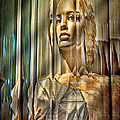 Woman In Glass by Chuck Staley