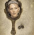 Woman In Mirror by Amanda Elwell