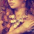 Woman's Decollete by Jelena Jovanovic