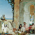 Women Of A Harem In Morocco by Jean Joseph Benjamin Constant